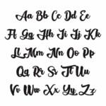 10 Best Font Styles Alphabet Printable Printablee
