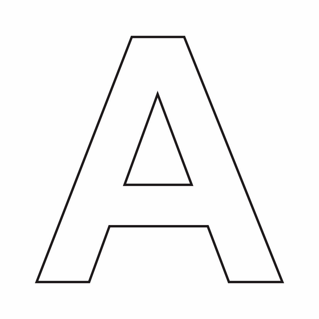 10 Best Free Printable Alphabet Stencil Letters Template