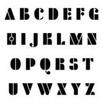 10 Best Free Printable Fancy Alphabet Letters Templates