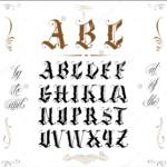 10 Old English Fonts TTF OTF Format Download Design