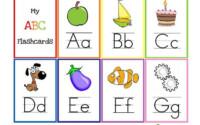 10 Sets Of Printable Alphabet Flashcards Alphabet