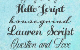 12 Free Calligraphy Fonts all For Personal Use Only