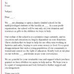 13 Free Donation Letter Template Format Sample Example