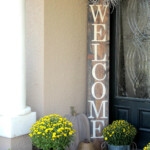 15 Amazing DIY Welcome Signs For Your Front Porch Style