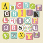 15 Beautifully Scrapbooking Letters Stickers Discover