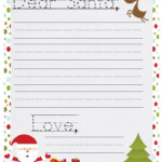 16 Free Letter To Santa Templates For Kids Christmas