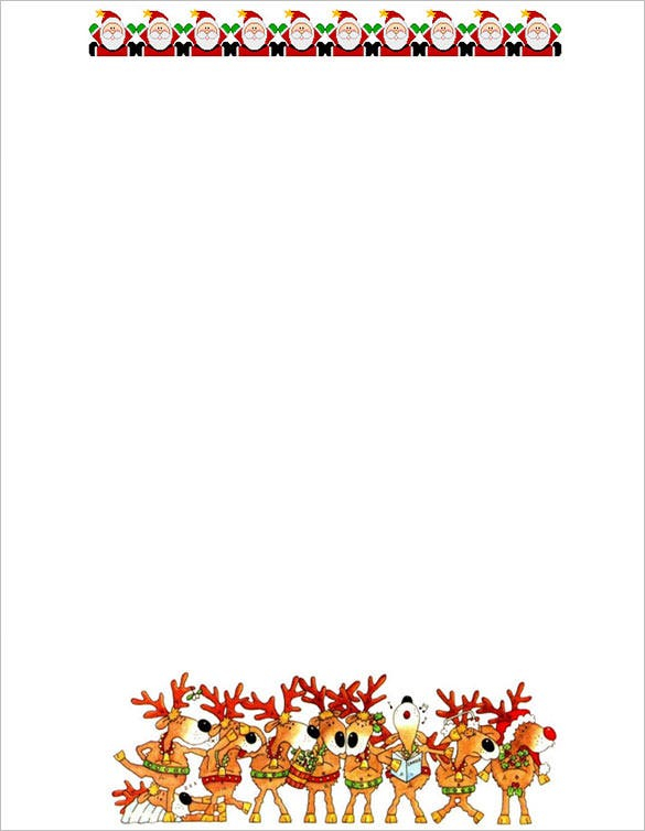 17 Christmas Paper Templates DOC PSD Apple Pages