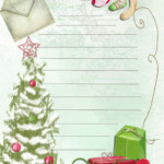 19 Free Printable Christmas Letter Templates Images Free