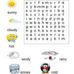 1st Grade Word Search Best Coloring Pages For Kids