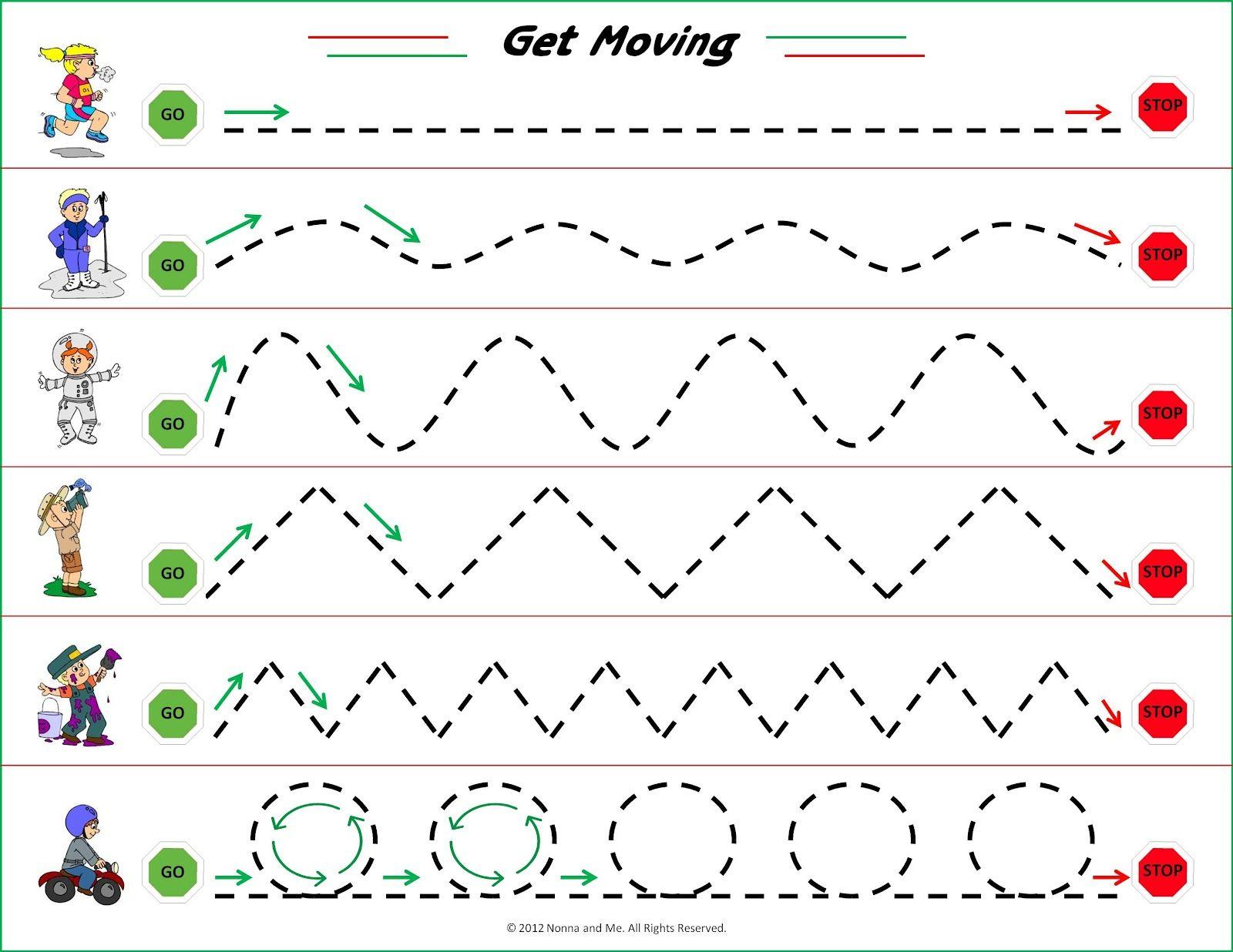 20 Free Preschool Tracing Worksheets con Im genes