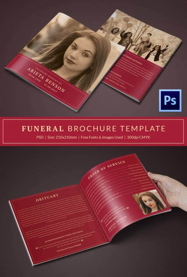 20 Funeral Program Templates Free Word Excel PDF PSD