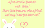 20 Playful Easter Bunny Letters KittyBabyLove