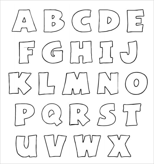 27 Enticing Bubble Letters Free Premium Templates