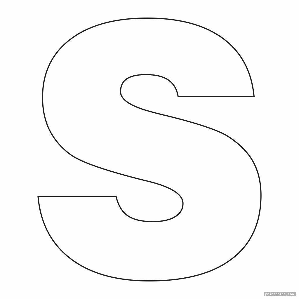 3 Inch Printable Block Letters Gridgit