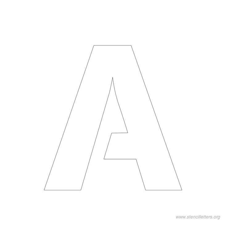 3 Inch Stencil Letters Stencil Letters Org Letter