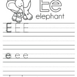 32 Fun Letter E Worksheets KittyBabyLove