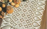 35 Creative Handmade Crochet Tablecloth Table Runner