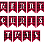 4 Best Free Printable Merry Christmas Lettering