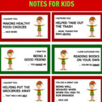 40 Printable Elf On The Shelf Notes For Kids