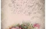45 Ideas Vintage Paper Printable French Script Vintage