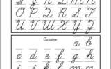 5 Best Cursive Lower Case Letters Printables Printablee