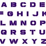 6 Best 8 Inch Letter Stencils Alphabet Printable