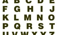 6 Best Large Printable Block Letter Stencils R