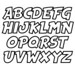6 Best Printable Block Letters Small Medium Printablee