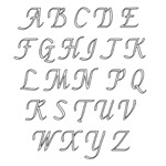 6 Best Printable Large Script Letters Printablee