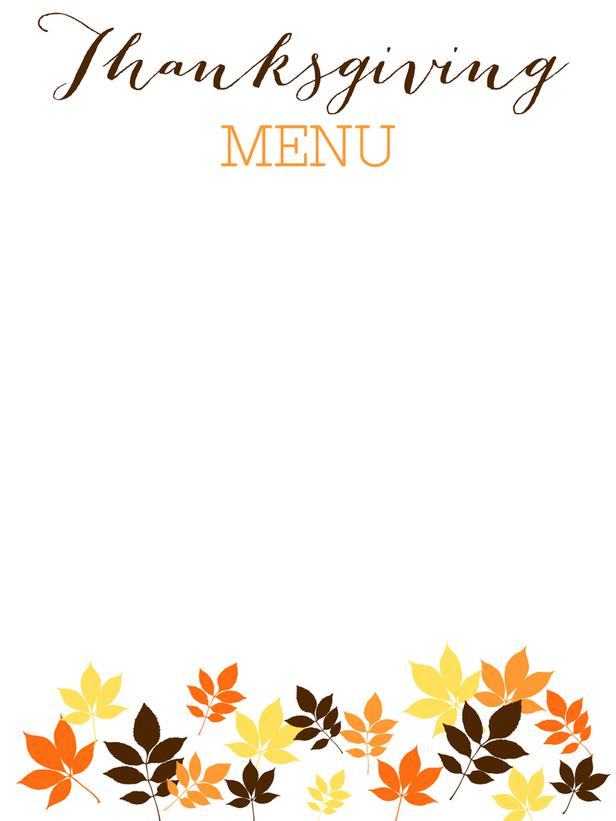 7 Best Thanksgiving Printable Food Label Template