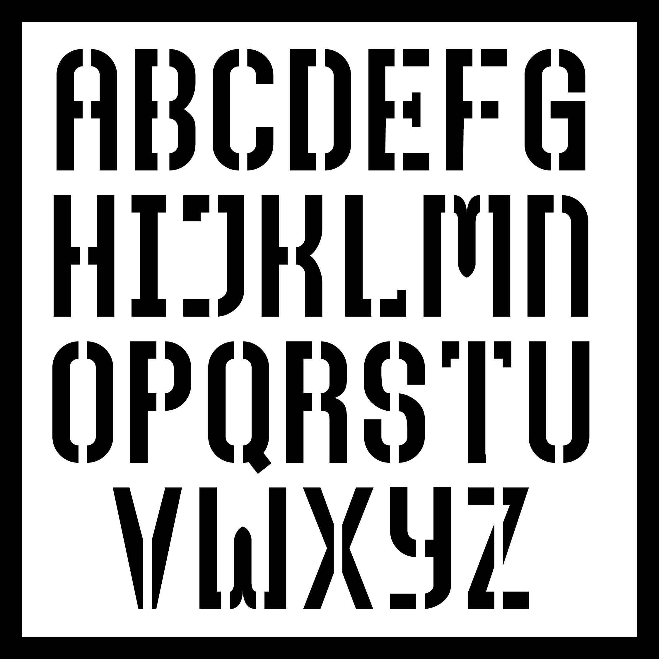 9 Best 6 Inch Printable Block Letters Printablee