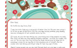 A Letter From Santa On Christmas Morning