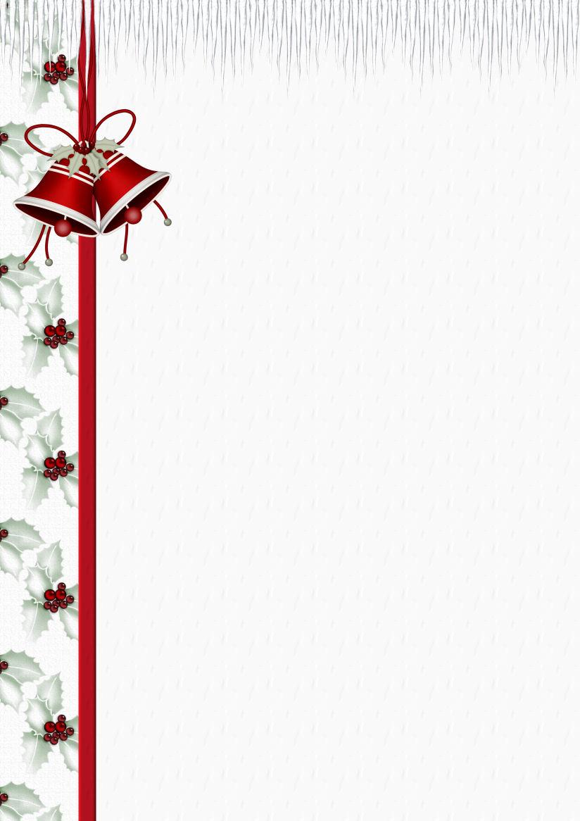 A4 Christmas Theme FREE Stationery Pg 1