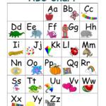 ABC Chart Part 1 Preschool Moms Have Questions Too