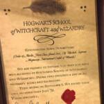 Acceptance Letter Harry Potter Harry Potter Birthday