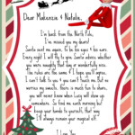 All Made On Picmonkey Elf On The Shelf I m Back Letter