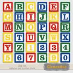 Alphabet Blocks Clip Art Images Baby Blocks Clip Art
