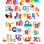 Alphabet Clipart Illustrated Alphabet Teaching Clip Art