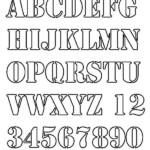 Alphabet Stencils Free Premium Templates