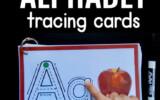 Alphabet Tracing Book The Measured Mom Alphabet