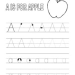 Alphabet Tracing Printables For Kids Free Printable