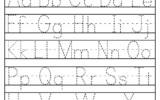 Alphabet Tracing Worksheets A Z Free Printable Bundle