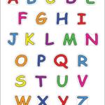 Alphabet Upper Case Letters Free Printable Templates