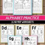 Alphabet Worksheets Primary Of Alphabet Printable