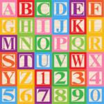 Baby Blocks Alphabet Font Clip Art Clipart By PinkPueblo