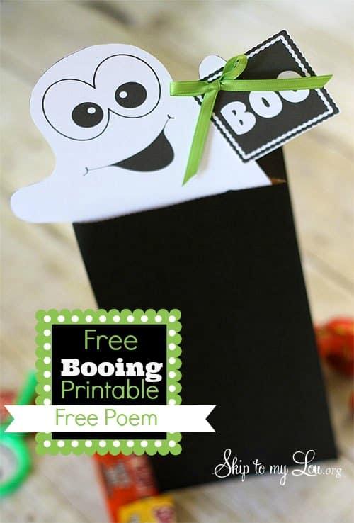 Booing Printable