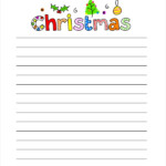 Christmas Letters 16 Free PDF Documents Download Free