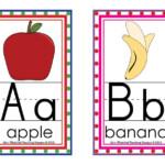 Classroom Alphabet Display Alphabet Flashcards Alphabet