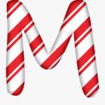 Clip Art Candy Cane Letters Candy Cane Alphabet U Free