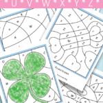 Color By Letters U V W X Y Z Free Kids Printable